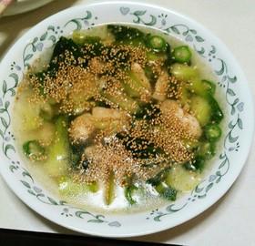 低カロリー、高タンパク!!ササミのスープ