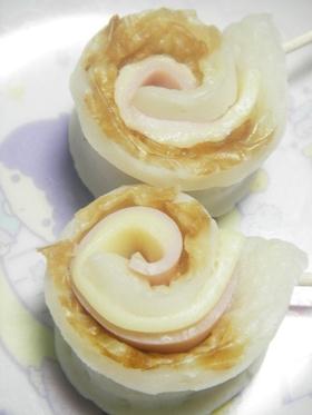 ★お弁当&おつまみ★竹輪のハムチーズ巻き