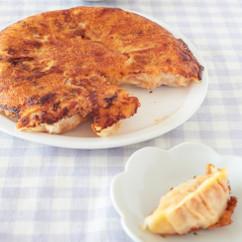 カリカリチーズ羽根つき豚キムチ円盤餃子