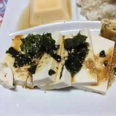 豆腐のタレ