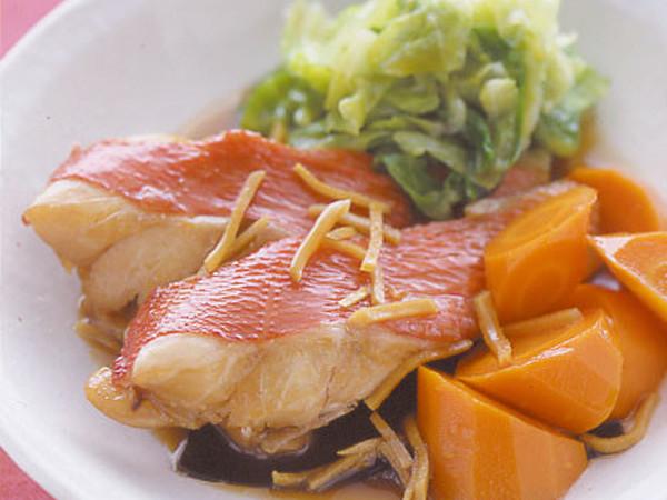 きんめ鯛の煮つけしょうが風味