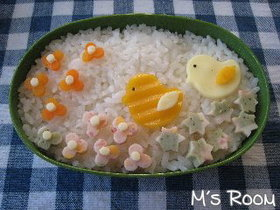 お弁当ご飯の飾り*3*