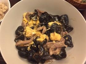 キクラゲ豚肉卵炒め、木須肉