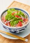 簡単☆彩り野菜のサラダフォー