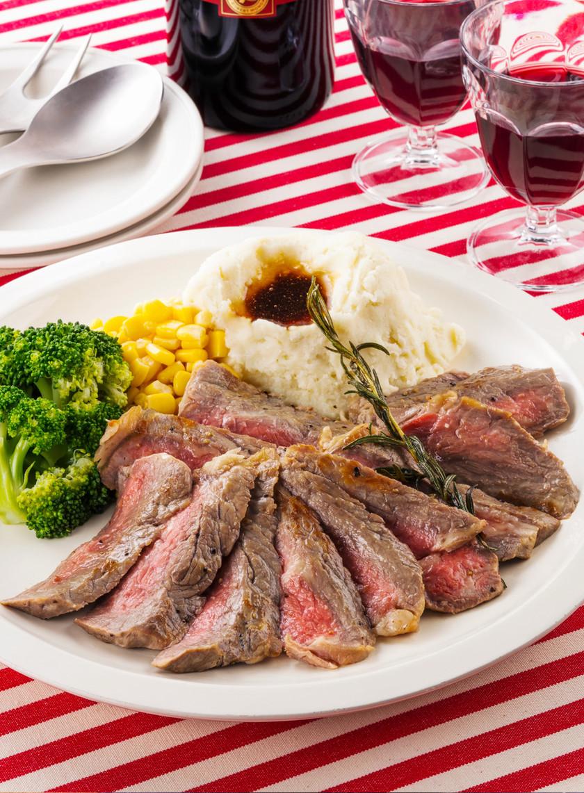 ステーキ肉で簡単!厚切り☆ローストビーフ