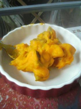 ダイエットスイーツ☆かぼちゃの豆乳煮