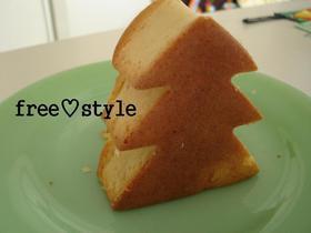 簡単♪アップル豆乳ケーキ♪