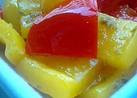 パプリカの柚子こしょうマリネ