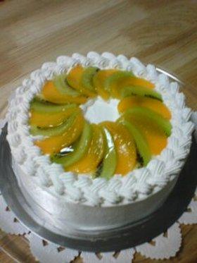デコレーションケーキ その1