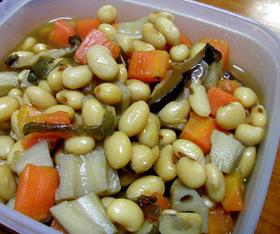 素人の煮豆