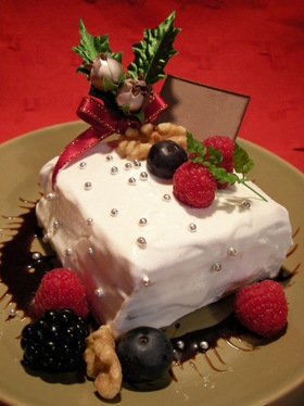 フライパンで失敗しないクリスマスケーキ★