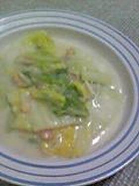 フライパン1つでOK!簡単白菜クリーム煮