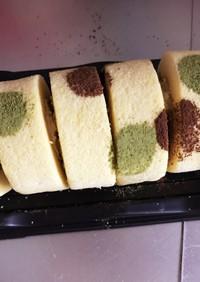 デコロールケーキ 簡単すぎ!