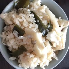 ウマヅラハギの炊き込みご飯