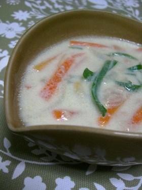 豆乳スープ~ツナ&オニオン~