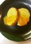 敬老の日に、伊達巻のオレンジジャム添え
