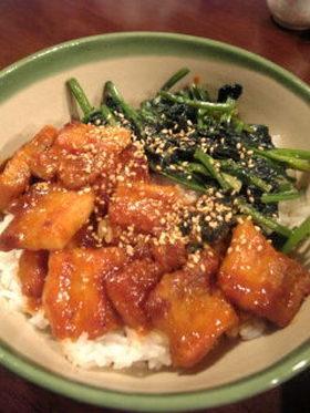 絶品!韓国風豚丼