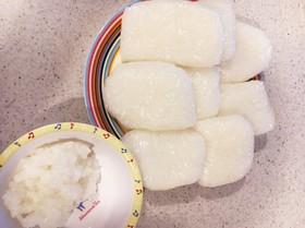 離乳食後期 5倍粥(全粥)炊飯器から