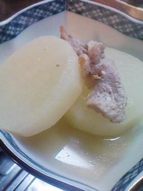シンプル♪塩味の大根の煮物