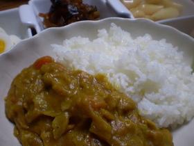 中華鍋で作るカレー 作って直ぐ2日目の味