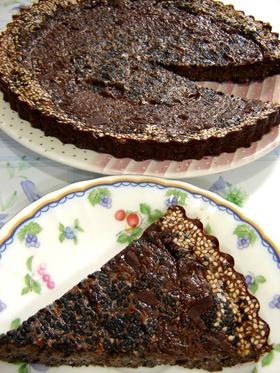 黒胡麻ココアヨーグルトケーキ