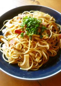 和風きのこスパゲティー♪