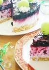 *ブルーベリーレアチーズケーキ*