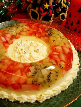 クリスマス☆彡カラフルレアチーズケーキ