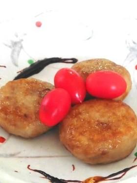 肉味噌そぼろの里芋饅頭