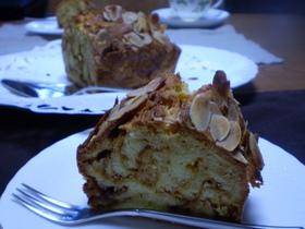 塩キャラメルのマーブルケーキ