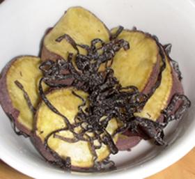材料二つ&5分で簡単☆薩摩芋の塩昆布和え