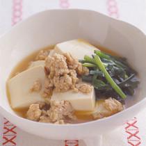 豆腐とにらのすき煮