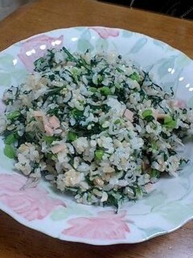 菊菜の混ぜごはん