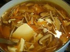 あったか~^^*♪豆腐あんかけ汁