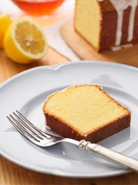 ラーマでお菓子♪レモンのパウンドケーキ