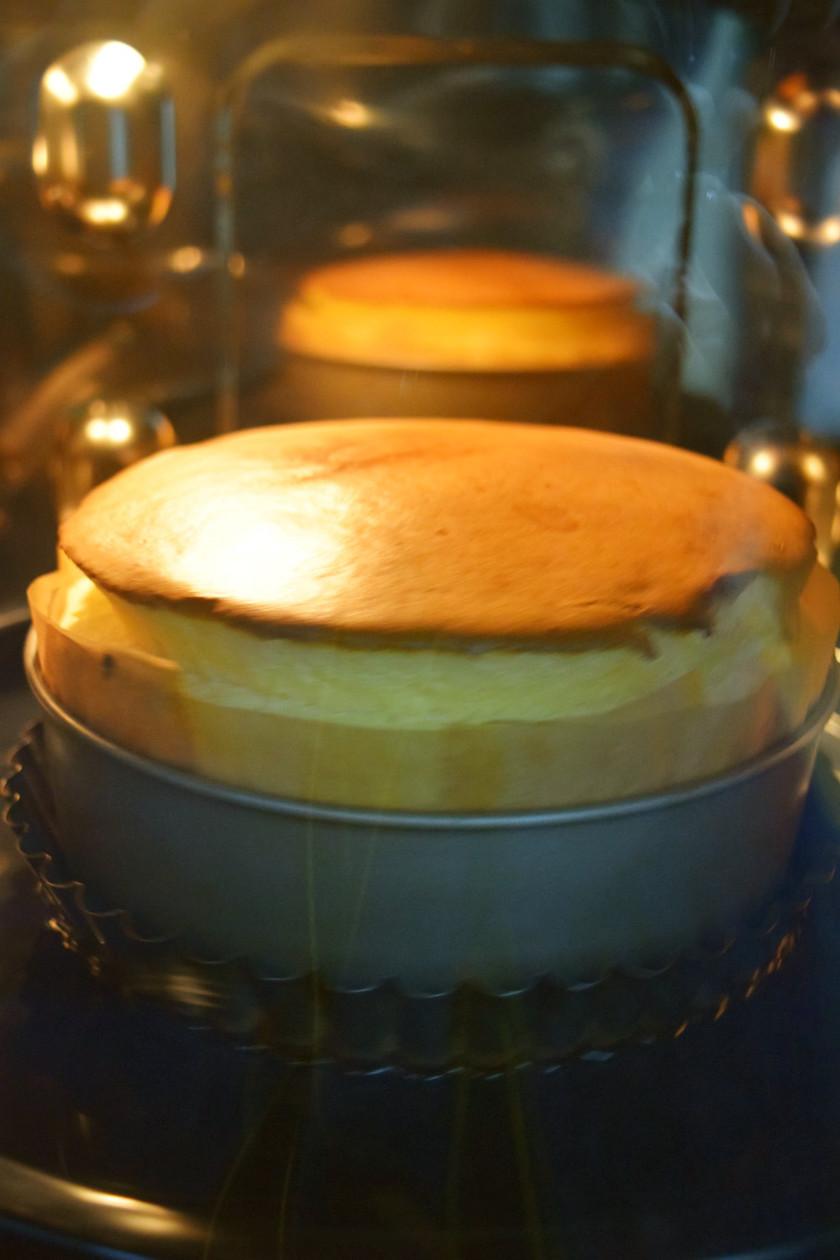 改良版しっとりふわふわスフレチーズケーキ
