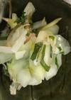 白瓜とみょうがのサッパリ酢の物