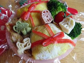 サンタさんのプレゼント寿司