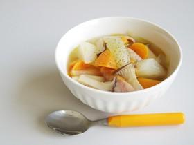 野菜たっぷり★ごろっと大根の食べるスープ