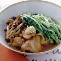 水菜たっぷりの治部煮