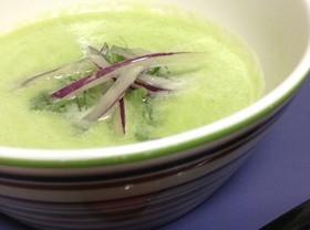 きゅうりとピーマングリーンスープ