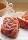 りんごのメープルケーキ