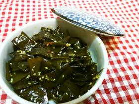 【常備菜】茎わかめの中華風ピリ辛佃煮