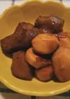 秋の味◆里芋とこんにゃくの煮転がし
