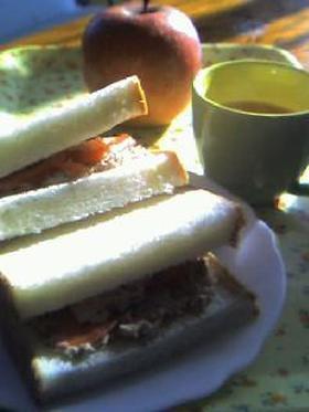 すてき♡♡な朝食を・・・サンド