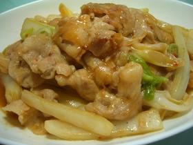 白菜と豚のオイスター味噌炒め☆