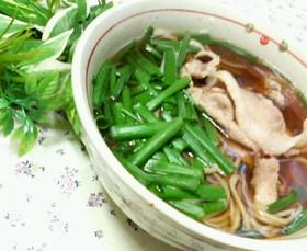 ✿シンプル❀肉ネギたっぷり✿あったか蕎麦