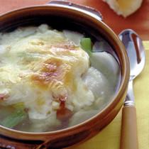 かぶのグラタンスープ