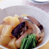 鮭と大根の煮もの