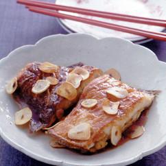 かれいの中華風ソテー 香味ソース